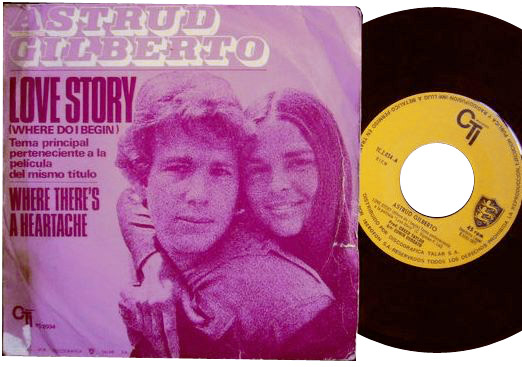 Astrud Gilberto love story / where there's a heartache