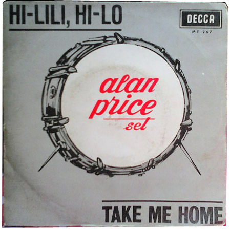Alan Price Set hi-lili, hi-lo / take me home