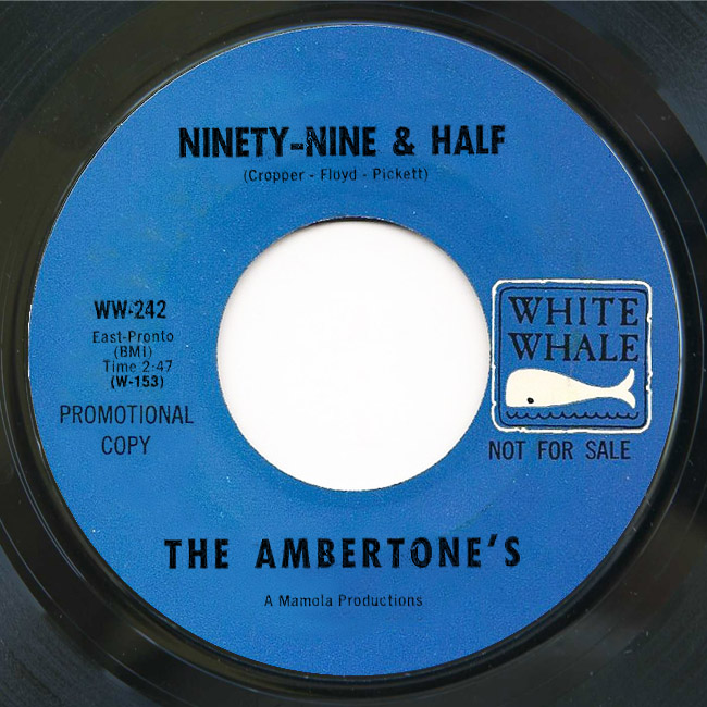 Ambertone's ninety-nine & half / you don't know like i know