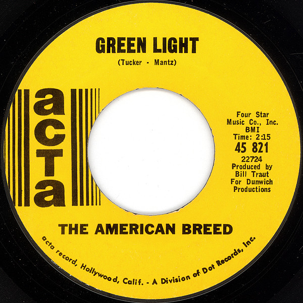 American Breed, the green light / don't it make you cry