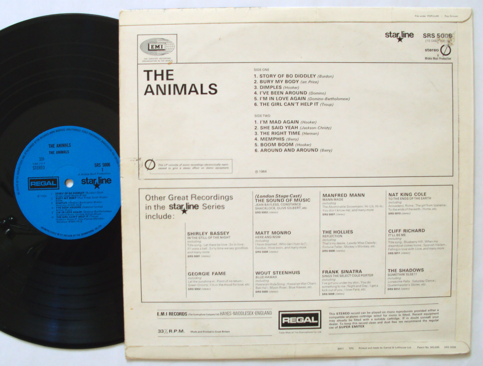 Animals, the the Animals