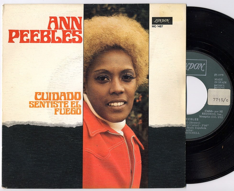 Ann Peebles beware / you got to feed the fire