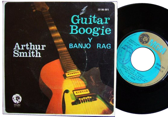 Arthur Smith guitar boogie / banjo rag
