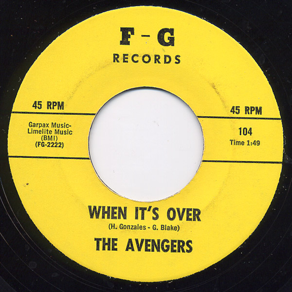 Avengers, the when it's over / you can't hurt me anymore