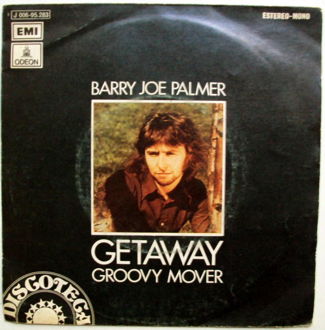 Barry Joe Palmer getaway / groovy mover