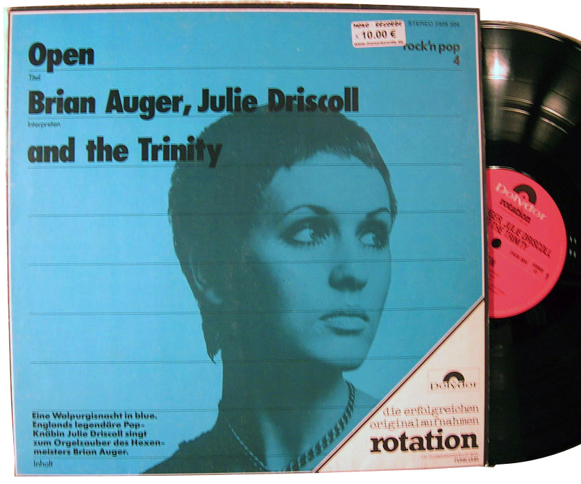 Brian Auger, Julie Driscoll & Trinity Open