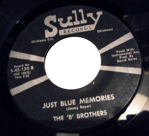 B Brothers just blue memories / call me anything
