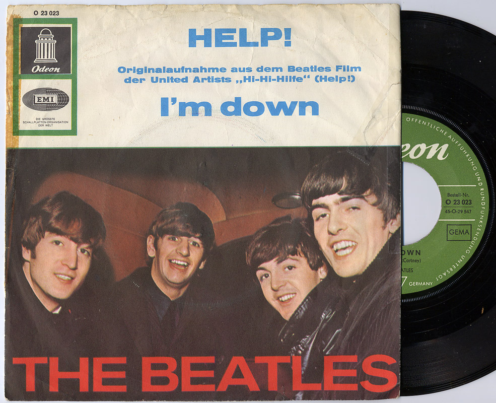 Beatles, the help! / i'm down