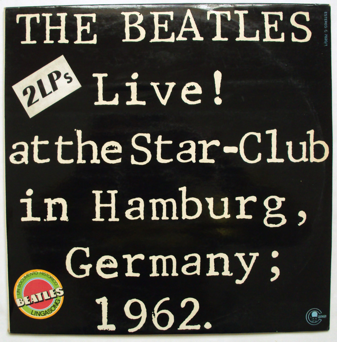 Beatles, the live! at the star-club in hamburg, Germany 1962