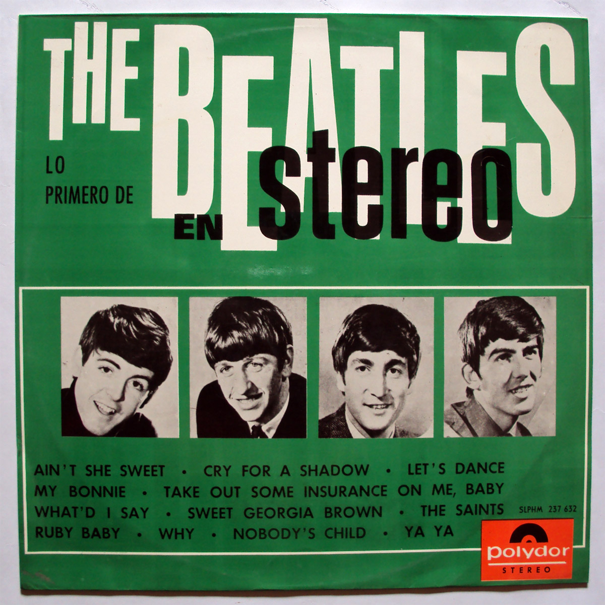 Beatles, the & Tony Sheridan Lo Primero de The Beatles en Stereo
