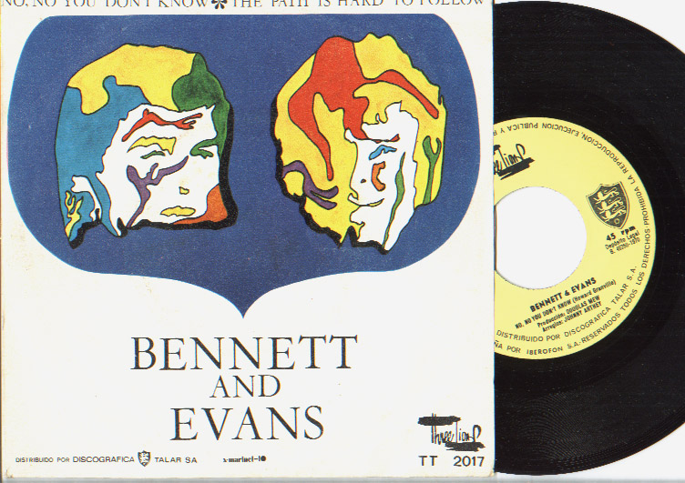 Bennet & Evans no no you don't know / this path is hard to follow