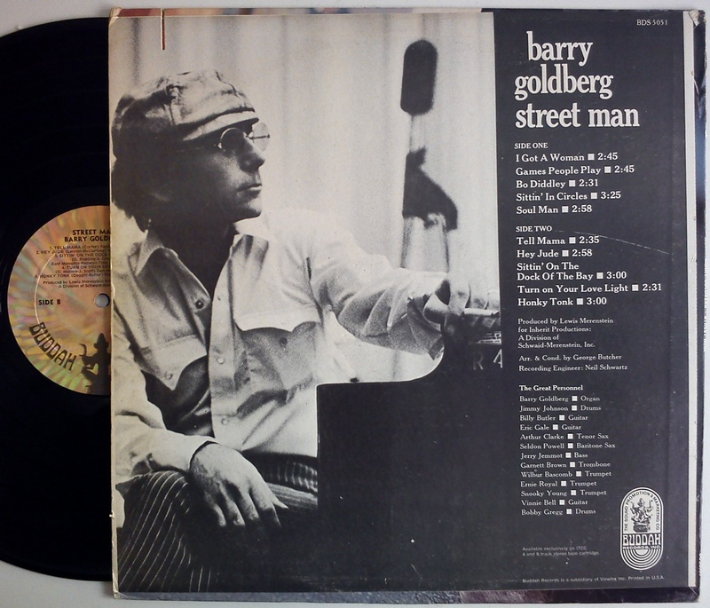 Barry Goldberg Street Man