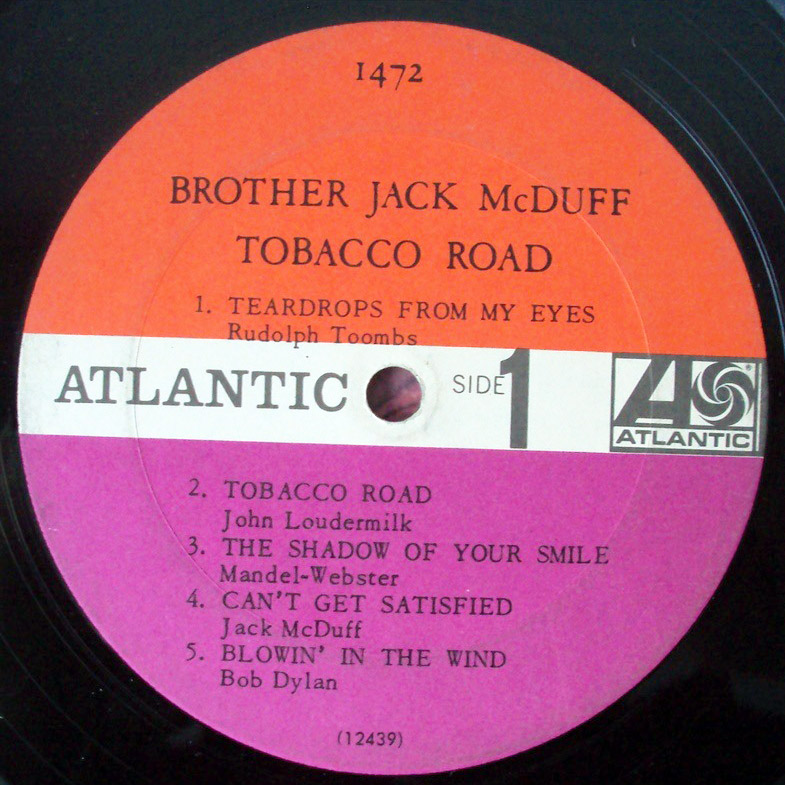 Brother Jack McDuff tobacco road