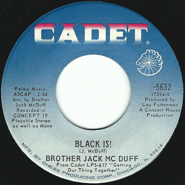 Brother Jack McDuff black is! / win, lose or draw