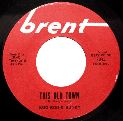 Boo Boo & Bunky this old town / turn around