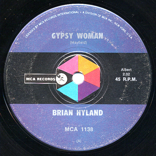 Brian Hyland gypsy woman / you and me