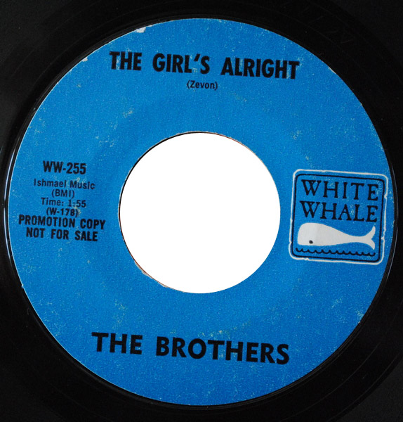 Brothers, the the girl's alright / love story