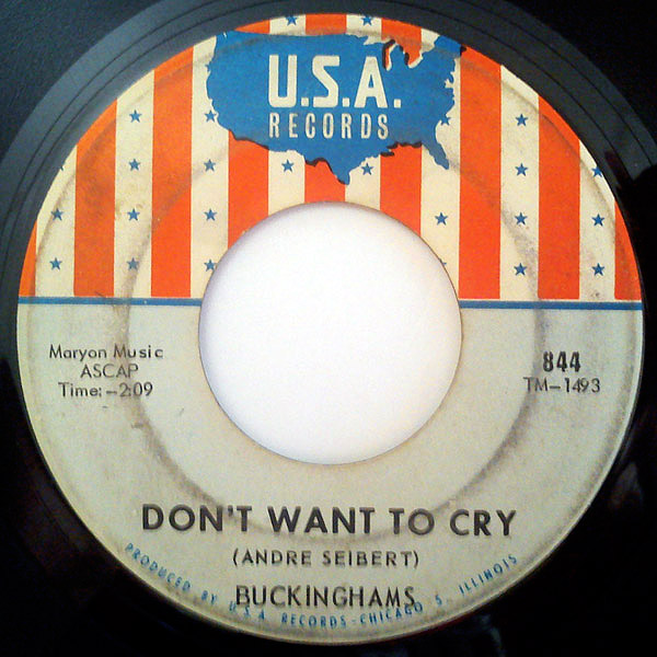 Buckinghams, the don't want to cry / i'll go crazy