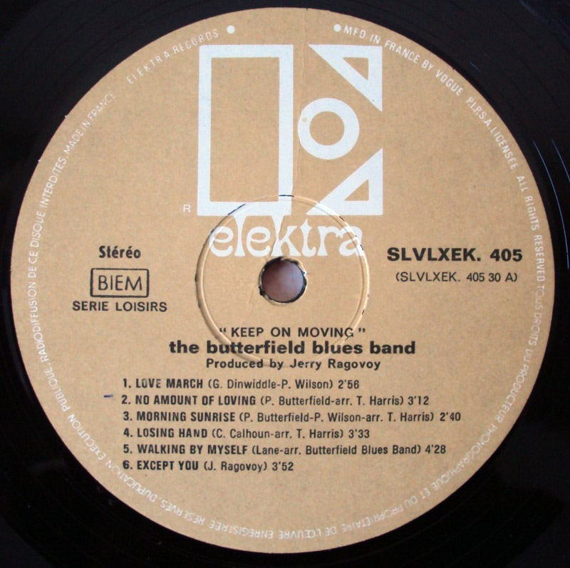 Butterfield Blues Band keep on moving