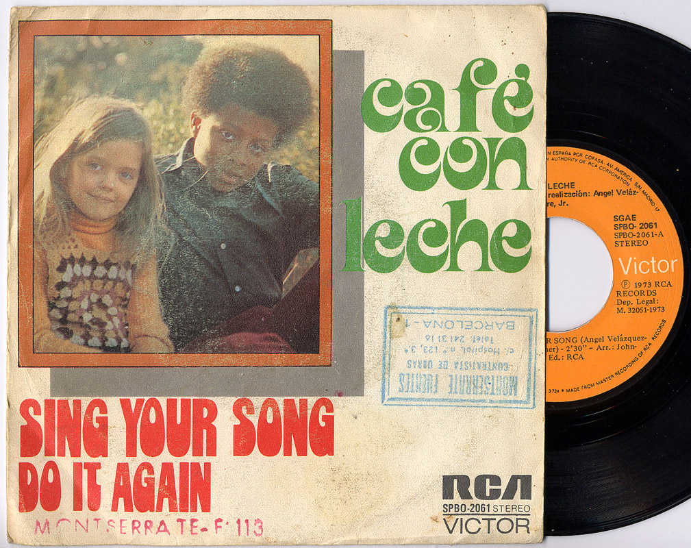 Cafe con Leche sing your song / do it again