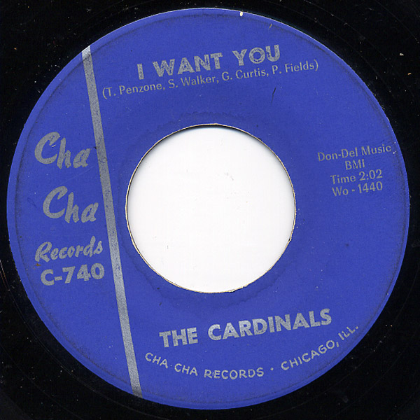 Cardinals, the i want you / tomato juice