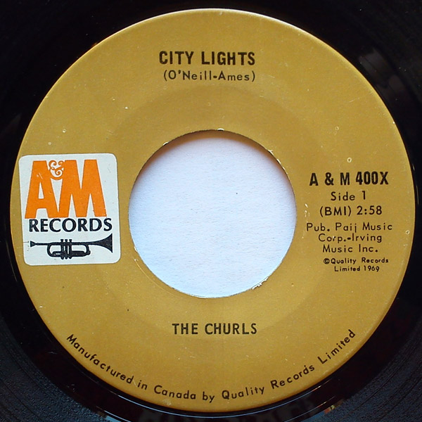 Churls, the city lights / where will you be tomorrow