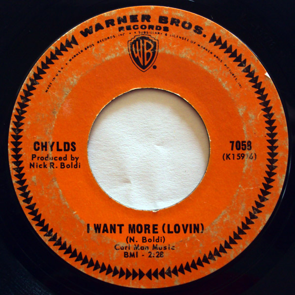 Chylds, the i want more (lovin) / hay girl