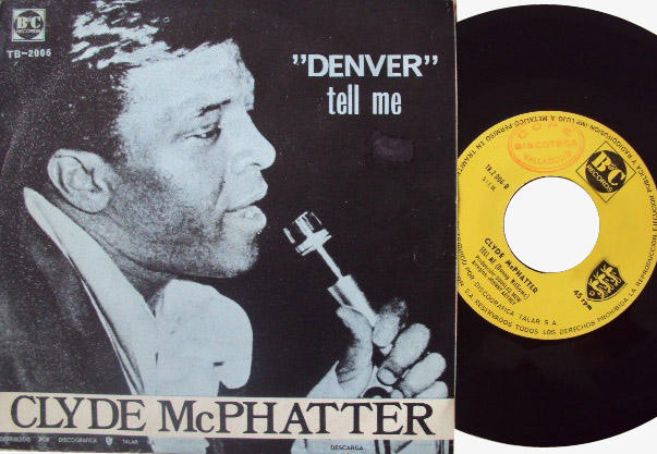 Clyde McPhatter denver / tell me