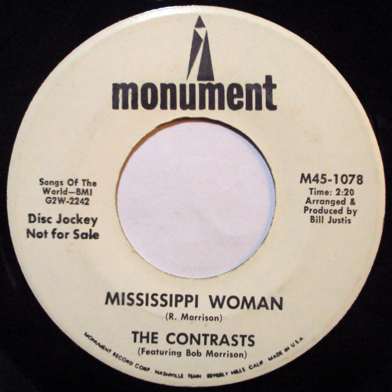 Contrasts, the mississippi woman / that girl became a woman