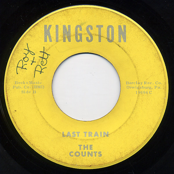 Counts, the last train / i will lose my mind