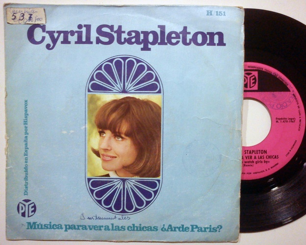 Cyril Stapleton music to watch girls by / is Paris burning?
