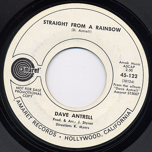 Dave Antrell straight from a rainbow / the clock strikes 12