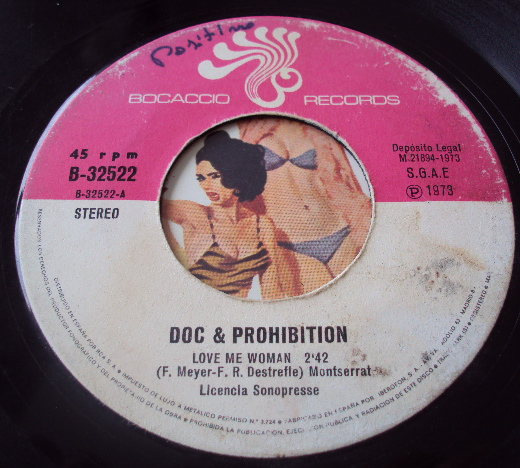 Doc & Prohibition new york mama / love me woman