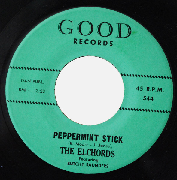 Elchords, the peppermint stick / gee i'm in love