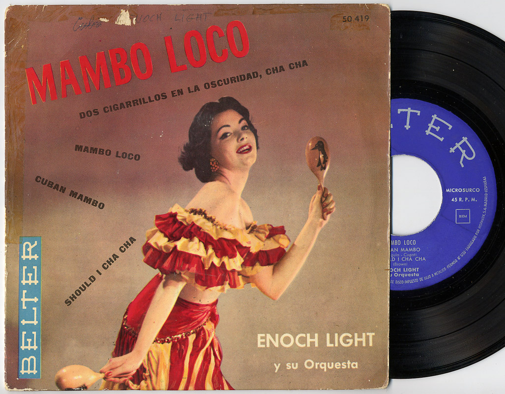 Enoch Light - Willie Rodriguez mambo loco