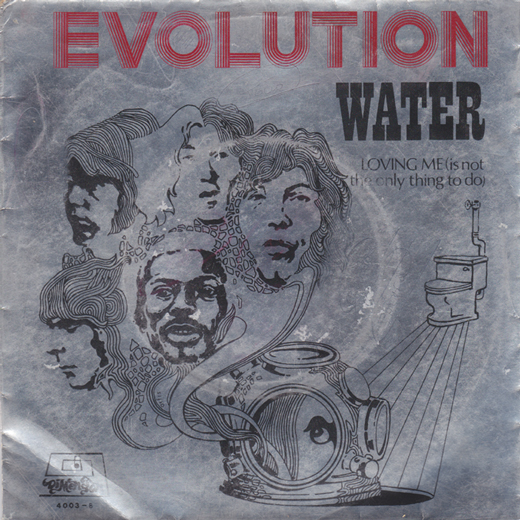 Evolution water / loving me (is not the only thing to do)