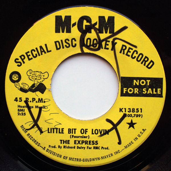 Express, the hurry love / little bit of lovin'