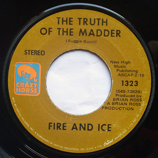 Fire and Ice the truth of the madder / sugar shaker
