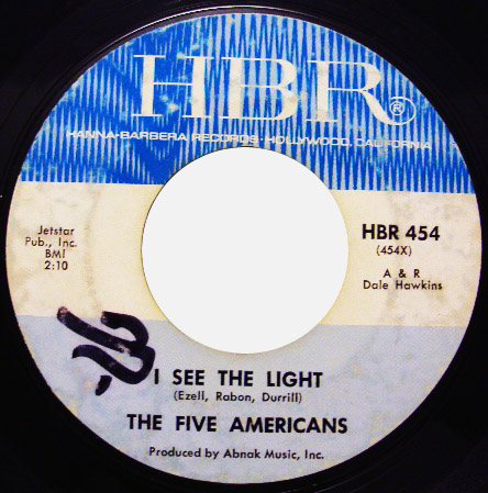 Five Americans, the i see the light / the outcast