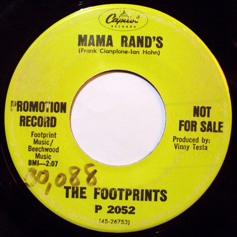 Footprints, the mama rand's / never say die