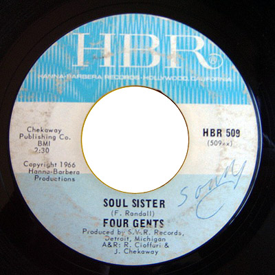 Four Gents soul sister / i've been trying