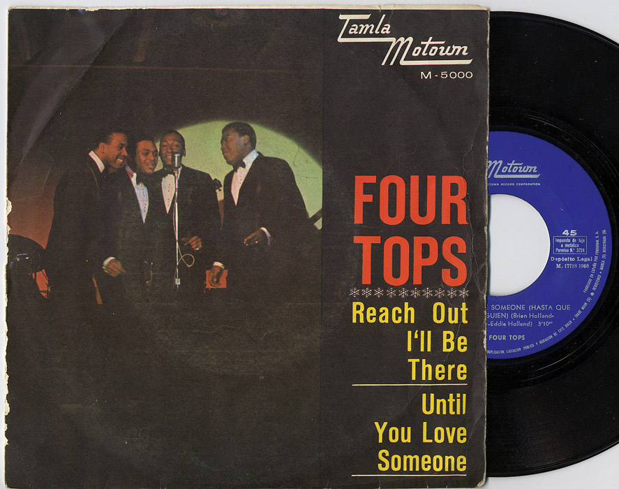 Four Tops reach out I'll be there / until you love someone