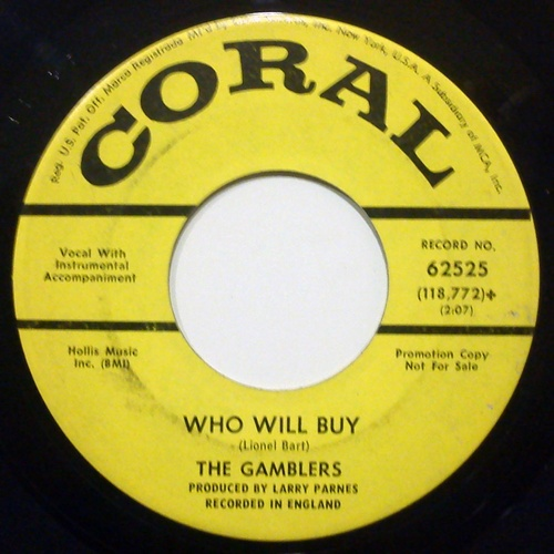 Gamblers, the who will buy / cry me a river
