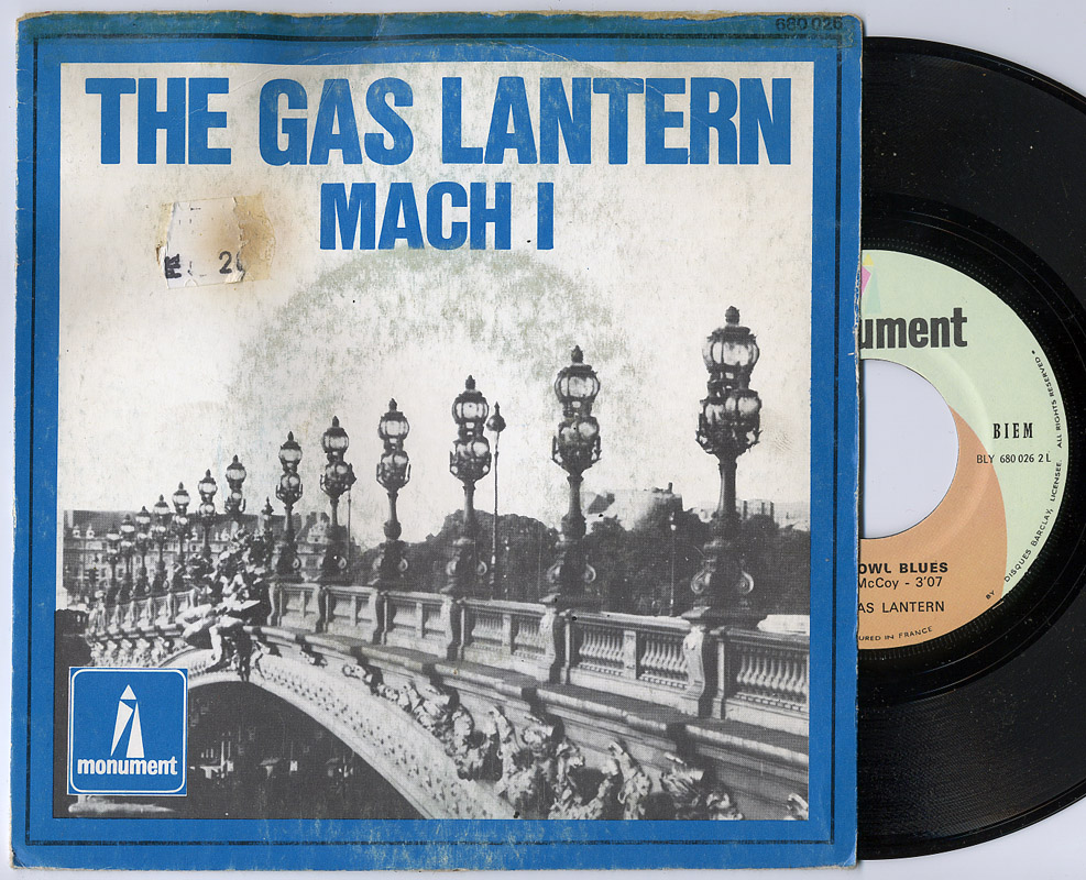 Gas Lantern, the & Charlie McCoy mach 1 / hot owl blues