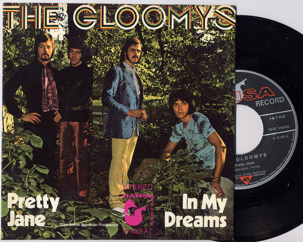 Gloomys, the pretty jane / in my dreams