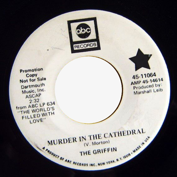 Griffin, the murder in the cathedral / same