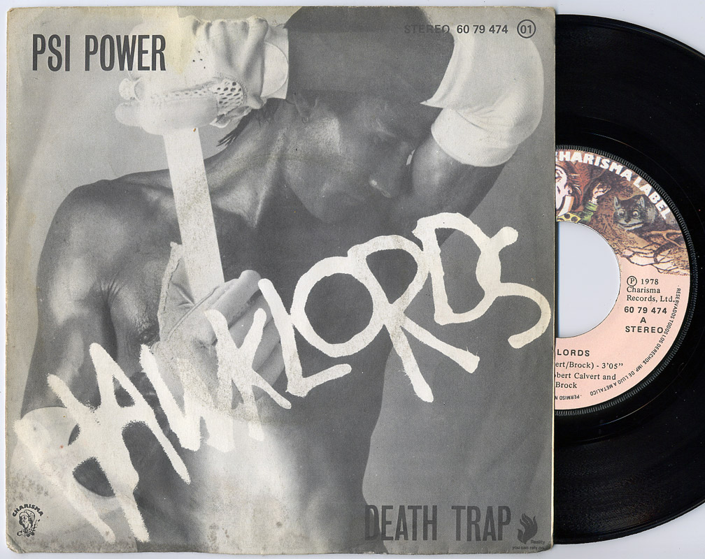 Hawklords (Hawkwind) psi power / death trap