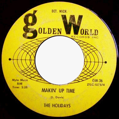 Holidays, the makin' up time / i'll love you forever