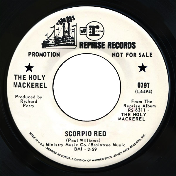 Holy Mackerel scorpio red / the lady is waiting