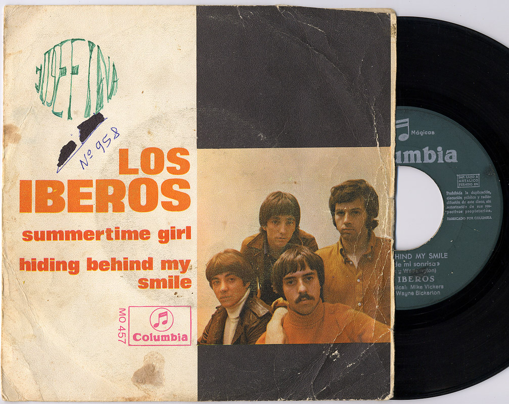 Iberos, los summertime girl / hiding behind my smile